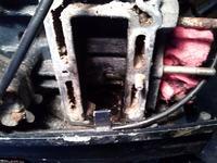 Mercury - Silnik zaburtowy dwusów - 6km uszkodzona uszczelka pod głowicą.