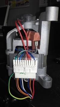 Welling - podłączeni silnika od pralki