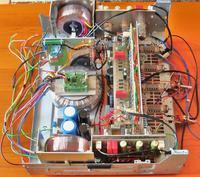 Wzmacniacz Push Pull 2 X QQE03/12 w stopniu mocy