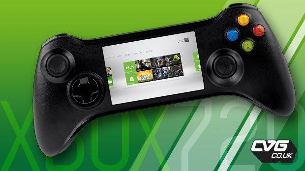 Kontroler do Xbox 720 z ekranem dotykowym?