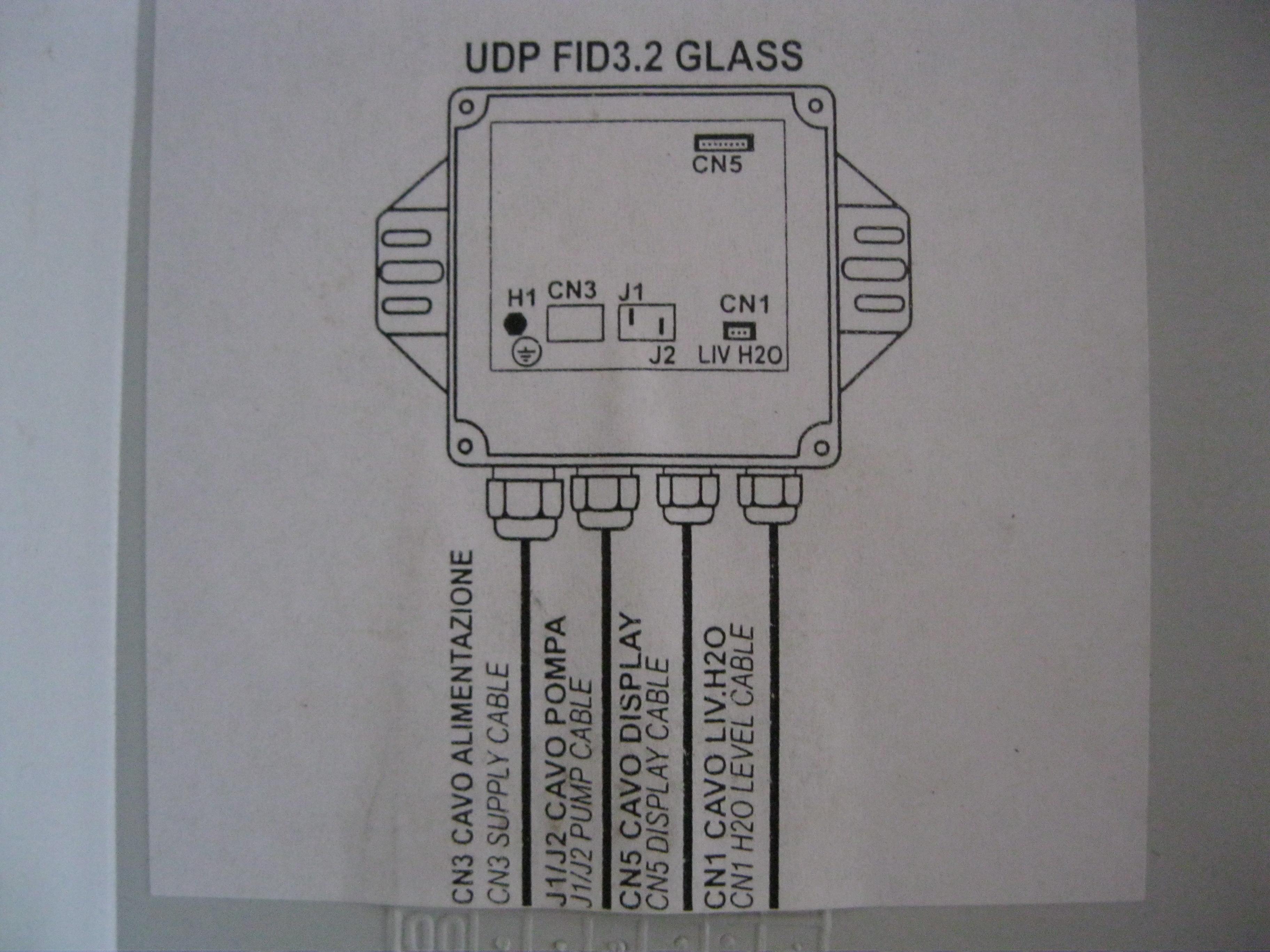 Sterowanie elektroniczne pompy - wtyki J1/J2 (W/U)