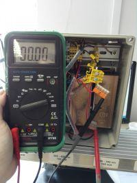 Utwardzanie, słaba radiacja diod UV.