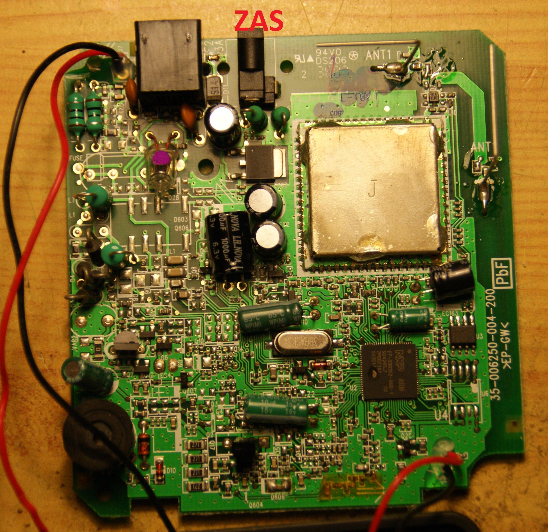 Panasonic KX-TG8070PD - po burzy