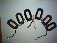 Mińsk 125 elektryka/przewijanie cewki zasilającej CDI
