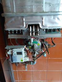 Piecyk gazowy podgrzewacz wody mastercook