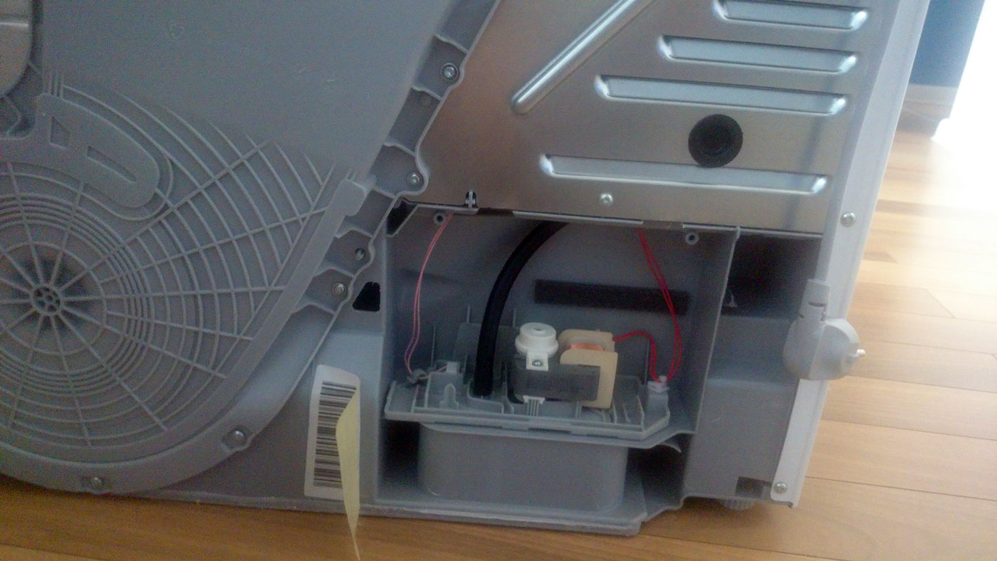 podłączenie pralki / suszarki podłączyć światła KC