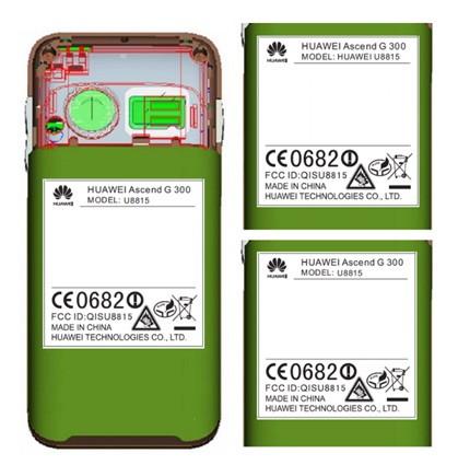 Huawei Ascend G 300 zg�oszony do rejestracji w FCC