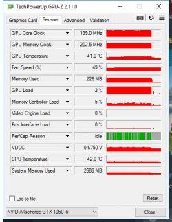 Spadki FPS Rust GeForce GTX 1050TI 16GB RAM