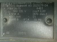 Silnik z Norwegii - wysoki prąd w połączeniu w trójkąt