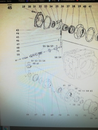 Blokada mechanizmu różnicowego Ursus C-360
