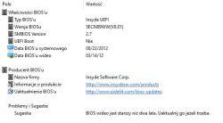Lenovo G580 - nie działa klawiatura i touchpad