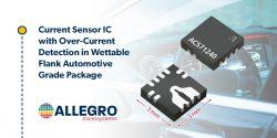 Nowe sensory prądu do zastosowań motoryzacyjnych
