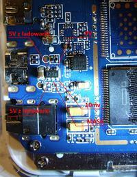 ColorFly s782 q1 - Gorące układy ładowania i jedna przetwornica