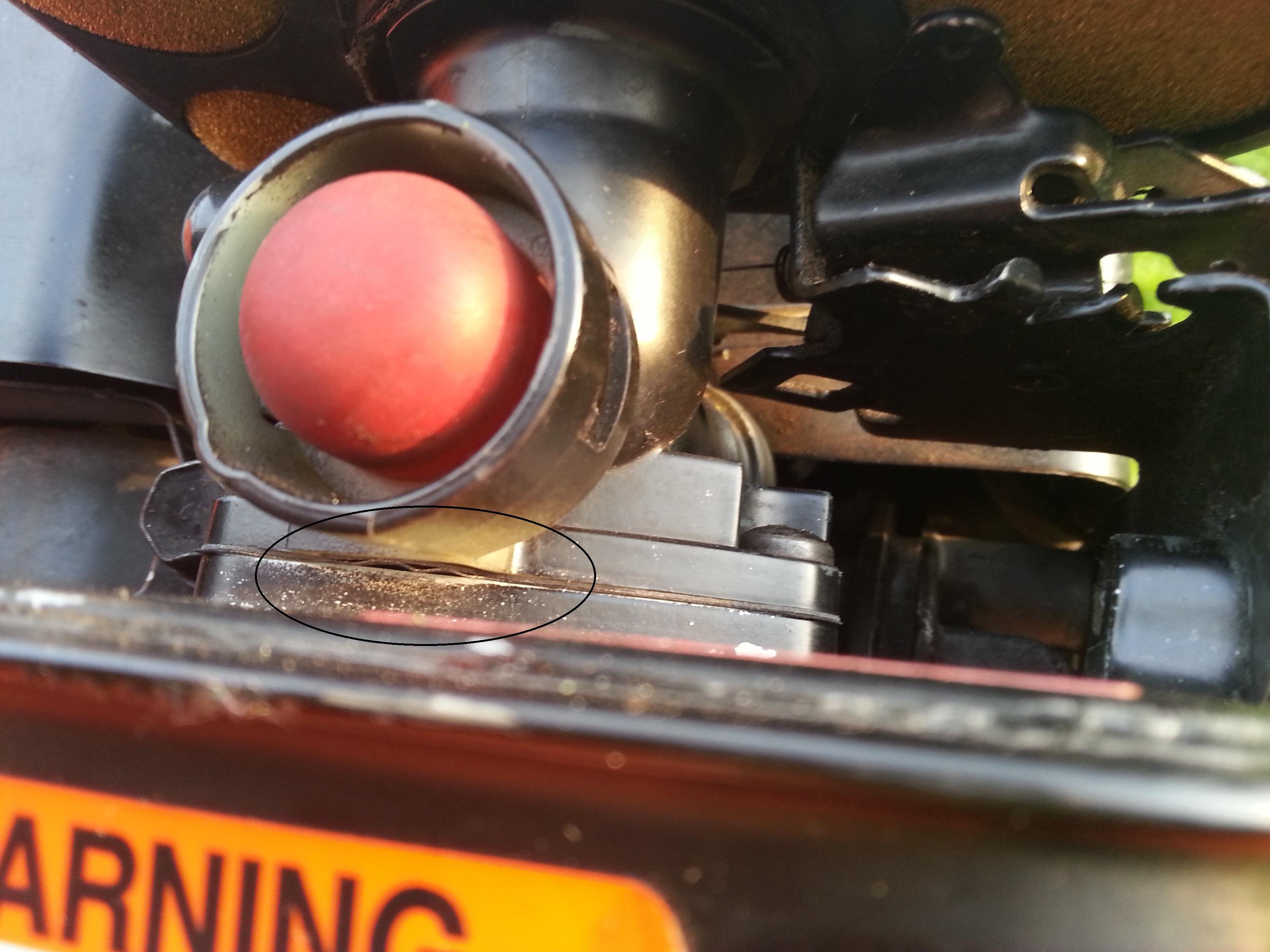 Briggs&Stratton 35 Classic - nier�wna praca silnika, faluj�ce obroty