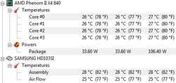 Procesor AMD phenom II x4 840 dziwnie si� przegrzewa.