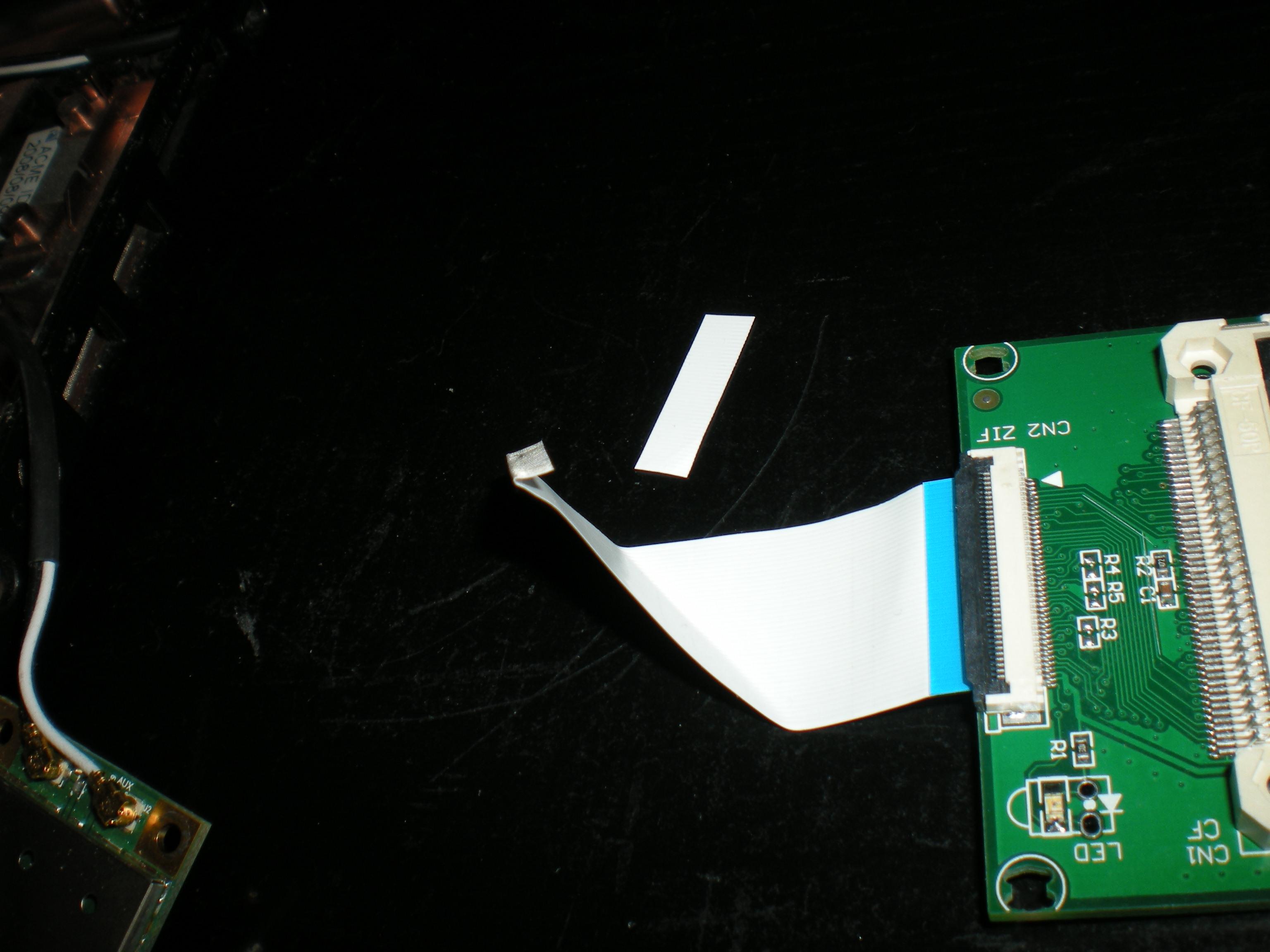 Instalacja wi�kszego dysku SSD w Aspire One A110 tanim kosztem