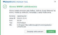 Wyskakujące okna w Chrome i Microsoft Edge