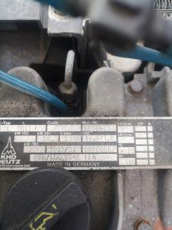 Kompresor śrubowy deutz 3000l.m 2 cylindry gasnie