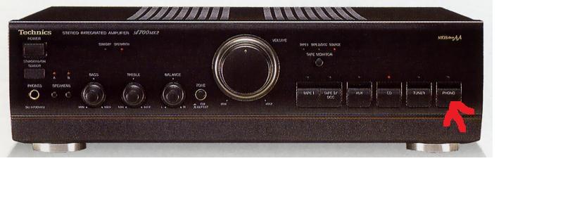 czy technics su+a700mk2 ma dobry przedwzmacniacz gramofonowy