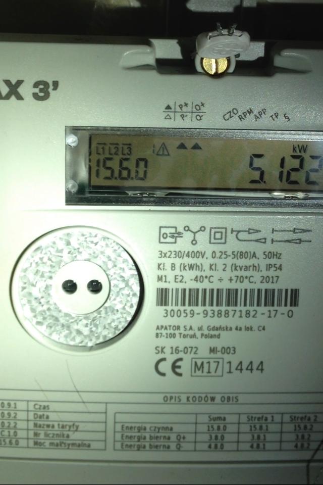 Zaawansowane Corax3 symbol trójkąta z wykrzyknikiem - elektroda.pl SO06