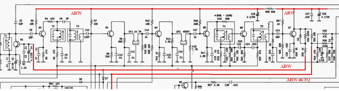 Alan 100+ - zamiennik tranzystora Q1