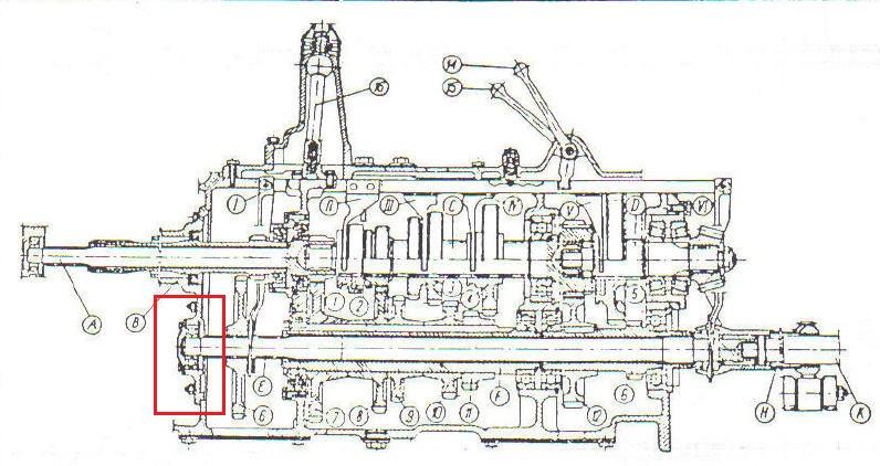 Ursus C360 - Demonta� pokrywy przedniej pomiedzy silnikiem a skrzyni�.
