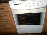 Amica - kuchnia gazowa zakładanie drzwi piekarnika