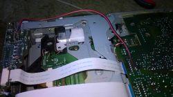 JVC KS-FX470R - trzeszczący lewy kanał sygnału ze zmieniarki CD