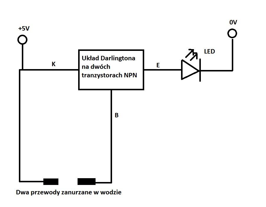 NE555 za��czany Tranzystorem