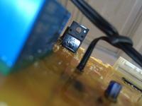 Samsung WF7602S8V - Pralka nie włącza się, spalony warystor ale jaki?