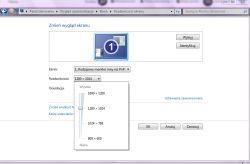 Dell optiplex 3020 - Nie mogę ustawić prawidłowej rozdzielczości monitora.