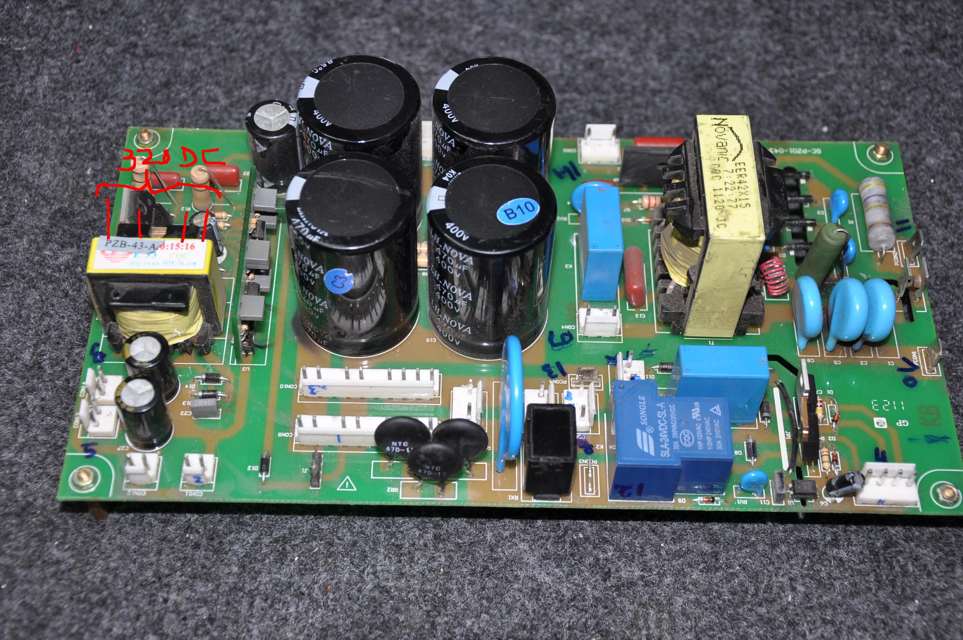 Poszukuj� schematu do spawarki MAGNUM THF 230P ,zwarcie w zasilaczu