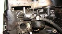 Raiffeisen-Trac 110esl - silnik nierównomiernie pracuje i strzela w tłumiku