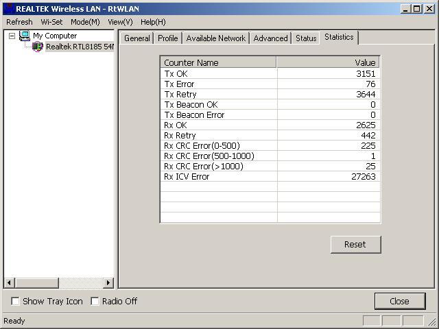 Pentagram Hornet PCI 802.11g Lite co chwil� si� roz��cza