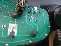 Pronar 82TSA - schemat podłączenia licznika motogodzin \ obrotomierza