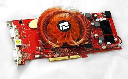 ATI Radeon HD 3850 - mocno si� grzeje.