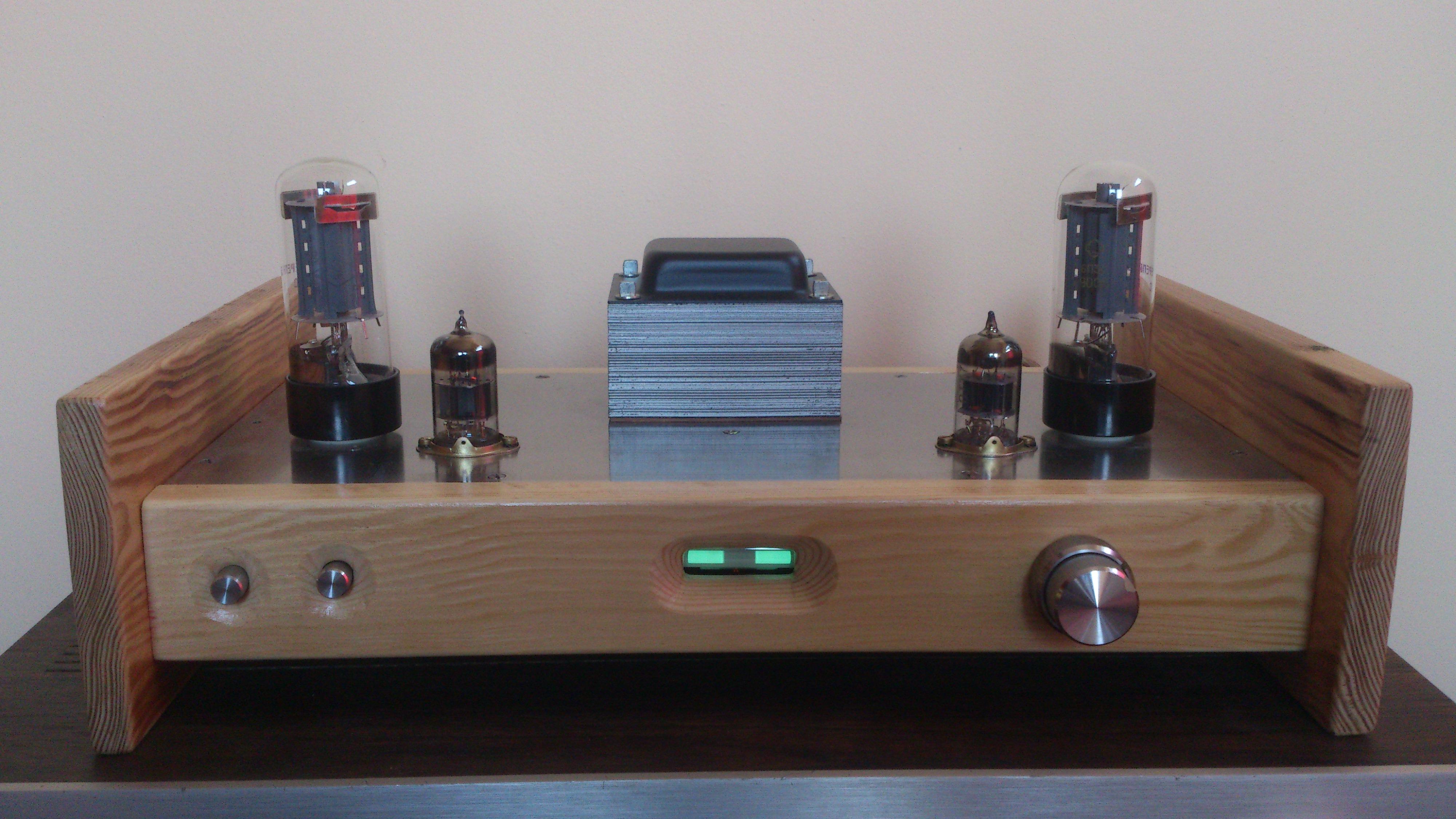 Wzmacniacz lampowy Hi-Fi SE 6P3S + 6N2P bud�etowa konstrukcja
