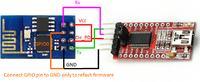 ESP8266 - brak połączenia, program ESP8266 Config v1.0