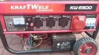 Agregat Prądotwórczy Kraftwelle - dziwny objaw