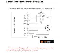 Silnik krokowy NEMA17 - 42HD2037-01 - napięcie znamionowe a napięcie zasilania