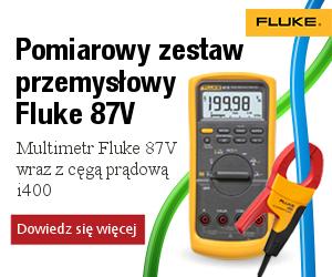 Banner Multimetr Fluke 87V