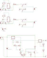 Układ podtrzymania awaryjnego z ładowaniem akumulatora żelowego