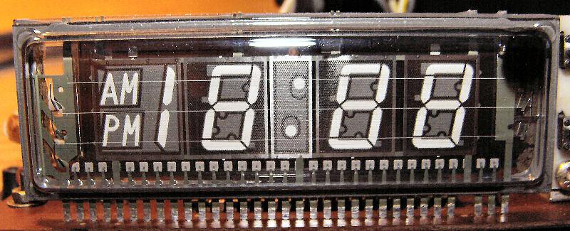 Zegar VFD na zabytkowym układzie scalonym TMS 1951NL