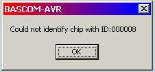 Programator AVR_ISP nie programuje