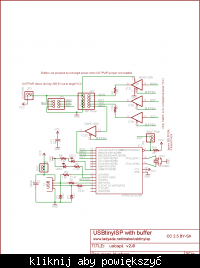 Programator USBtinyISP z szufladowców.