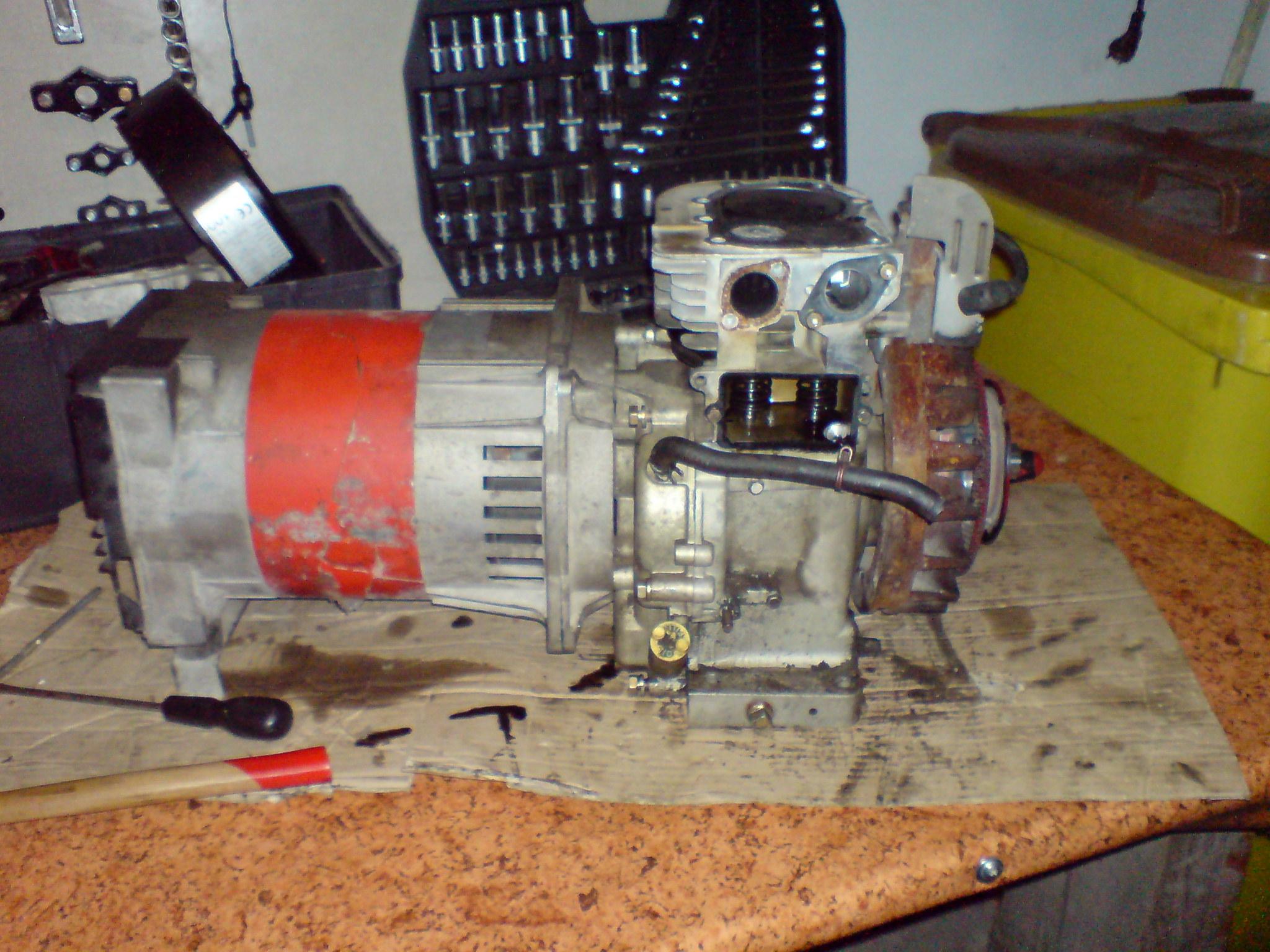 Dodatkowe jak rozłączyć agregat prądotwórczy od silnika spalinowego BN59
