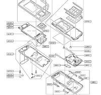 Samsung j600 klawisze boczne