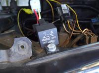 Światła na przekaźnik - VW Golf II
