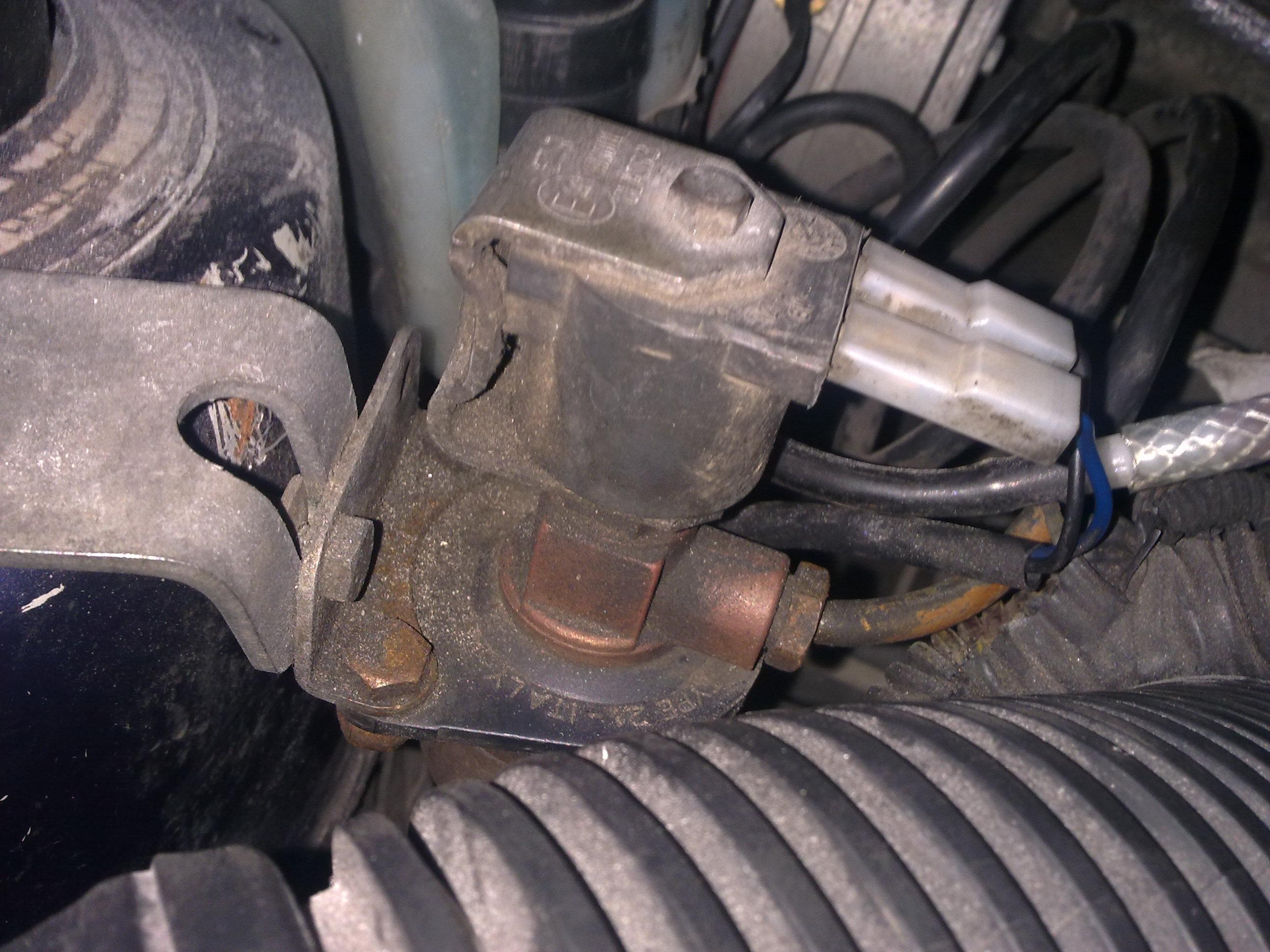 Opel Astra F 1,6 16V '97  -  silnik nie chce si� prze��czy� na gaz