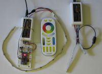 Konwerter PWM -> analog -> WS281x